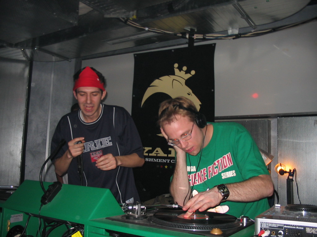 ´2004 in Berlin with Richard Core