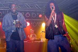 2000 with Trooper da Don, Anthony Locks
